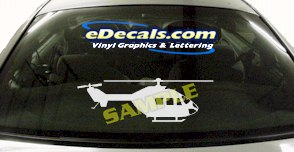 MIL122 Military Aircraft Airplane Decal