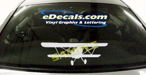 MIL125 Military Aircraft Airplane Decal