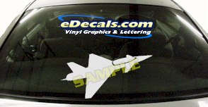 MIL129 Military Aircraft Airplane Decal