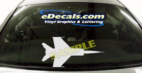 MIL131 Military Aircraft Airplane Decal