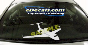 MIL134 Military Aircraft Airplane Decal