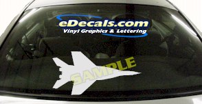 MIL137 Military Aircraft Airplane Decal