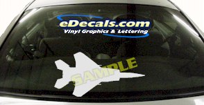 MIL139 Military Aircraft Airplane Decal