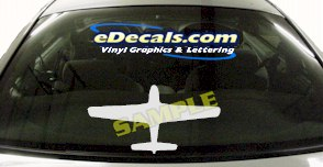 MIL141 P51 Mustang Military Aircraft Airplane Decal