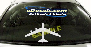 MIL143 B52 Military Aircraft Airplane Decal