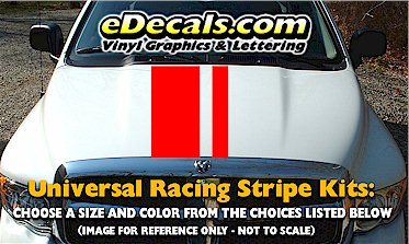 RSS903 Universal Dual Offset Racing Stripe Kit