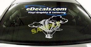SPT106 Hot Air Balloon Ride Sport Cartoon Decal