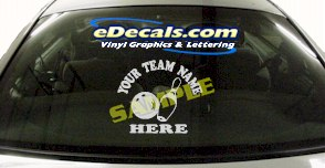 SPT152 Add Your Name Bowling Ball Pins Sport Cartoon Decal