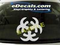 SYM110 Asian Symbol Decal