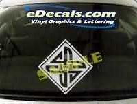 SYM112 Asian Symbol Decal