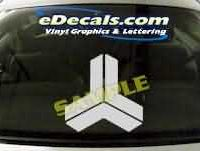 SYM116 Asian Symbol Decal