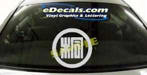 SYM117 Asian Symbol Decal