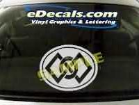 SYM120 Asian Symbol Decal