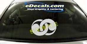 SYM129 Asian Symbol Decal