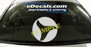 SYM130 Asian Symbol Decal