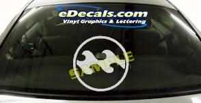 SYM132 Asian Symbol Decal