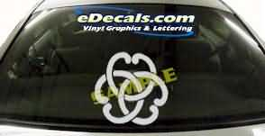 SYM133 Asian Symbol Decal