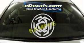 SYM141 Asian Symbol Decal