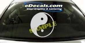 SYM148 Asian Symbol Decal