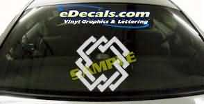 SYM149 Asian Symbol Decal
