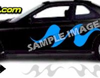 TRB100 Tribal Graphic Accent Decal