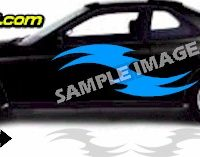 TRB102 Tribal Graphic Accent Decal