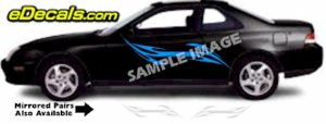 TRB103 Tribal Graphic Accent Decal