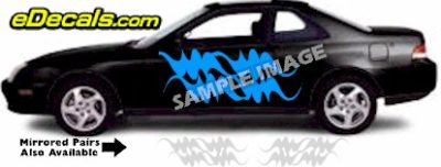 TRB105 Tribal Graphic Accent Decal