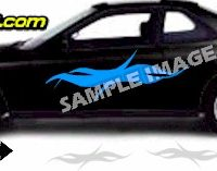 TRB107 Tribal Graphic Accent Decal