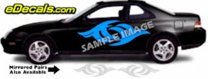 TRB110 Tribal Graphic Accent Decal