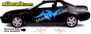 TRB111 Tribal Graphic Accent Decal