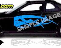 TRB112 Tribal Graphic Accent Decal