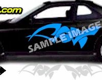 TRB114 Tribal Graphic Accent Decal