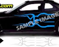 TRB115 Tribal Graphic Accent Decal