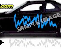 TRB116 Tribal Graphic Accent Decal