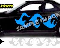 TRB117 Tribal Graphic Accent Decal