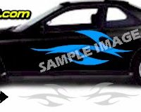 TRB118 Tribal Graphic Accent Decal