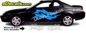 TRB124 Tribal Graphic Accent Decal