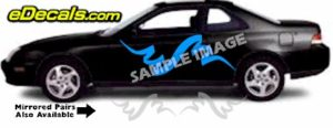TRB125 Tribal Graphic Accent Decal