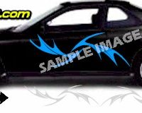 TRB131 Tribal Graphic Accent Decal