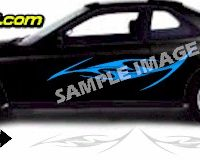 TRB132 Tribal Graphic Accent Decal