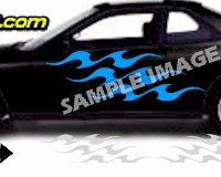 TRB137 Tribal Graphic Accent Decal