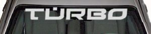 WSD348 Turbo Windshield Decal
