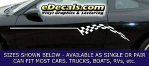 CFG206 Checkered Flag Decal