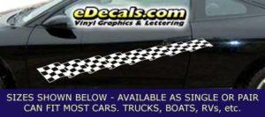 CFG241 Checkered Flag Decal