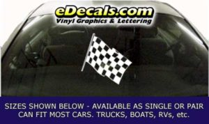 CFG276 Checkered Flag Decal