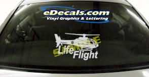 CRT311 Firefighter Helicopter Cartoon Decal