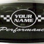 Custom608 Custom YOURNAMEHERE Performance Decal
