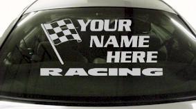 Custom656 Custom YOURNAMEHERE Racing Decal