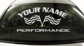 Custom711 Custom YOURNAMEHERE Performance Decal